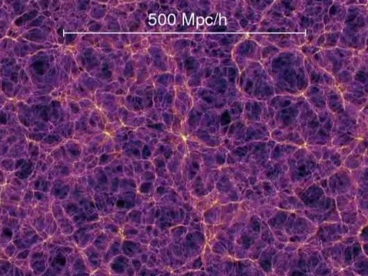 銀河フィラメント500Mpc/h