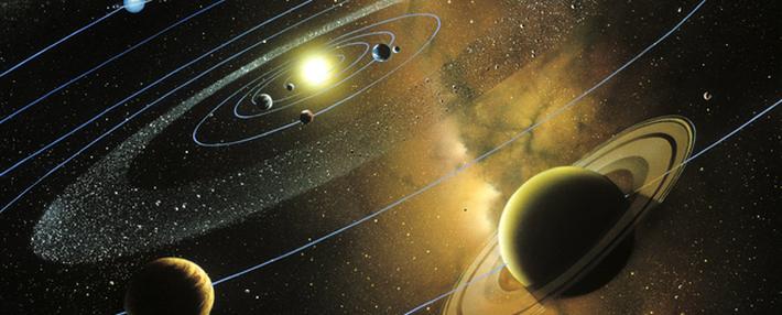 太陽系のイメージ