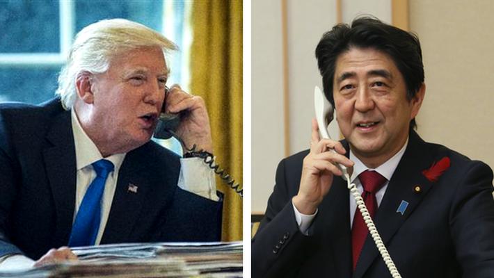 首脳同士の電話会談?